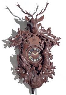Brass Plate Movement Cuckoo Clock