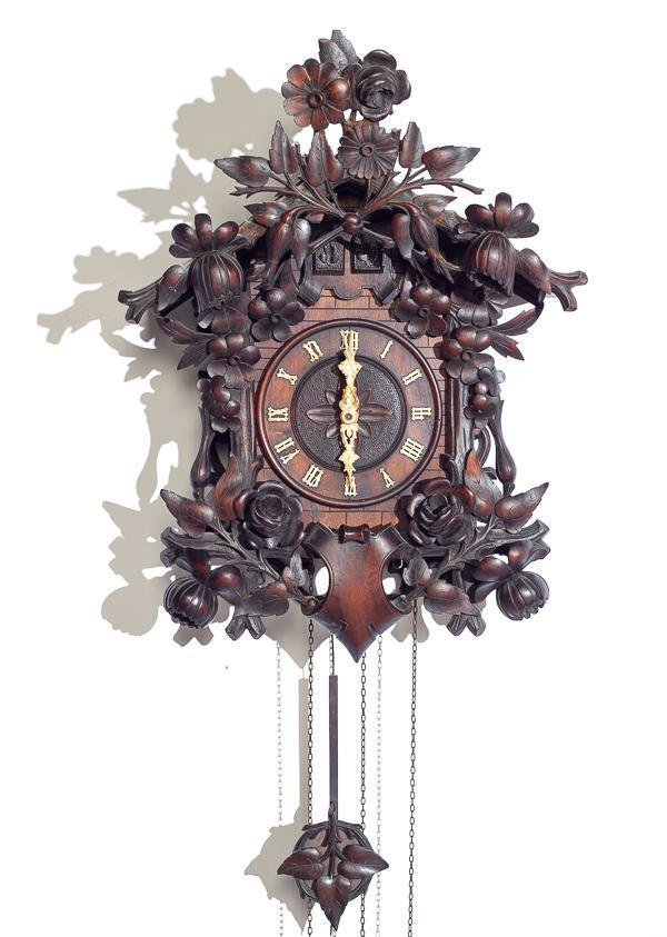 Wood Plate Movement & Quail Cuckoo Clock