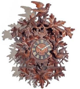 Spring Driven Movement Cuckoo Clock