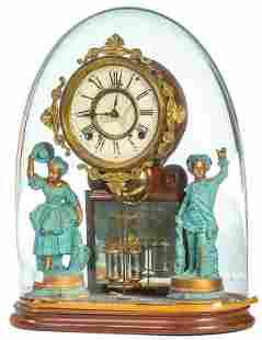 """Ansonia """"Crystal Palace"""" Clock, Circa 1875"""
