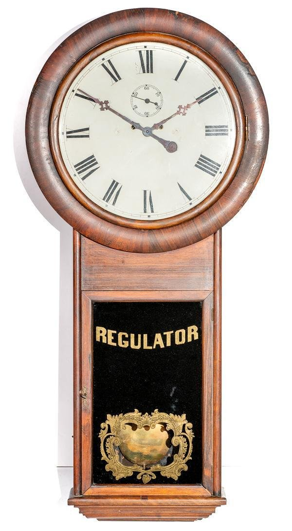 E.N. Welch #2 Regulator Clock
