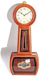 Miniature Foster Campos E. Howard #5 Banjo Clock