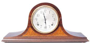 Seth Thomas Tambour Mantle Clock, 8 Day Time and Strike
