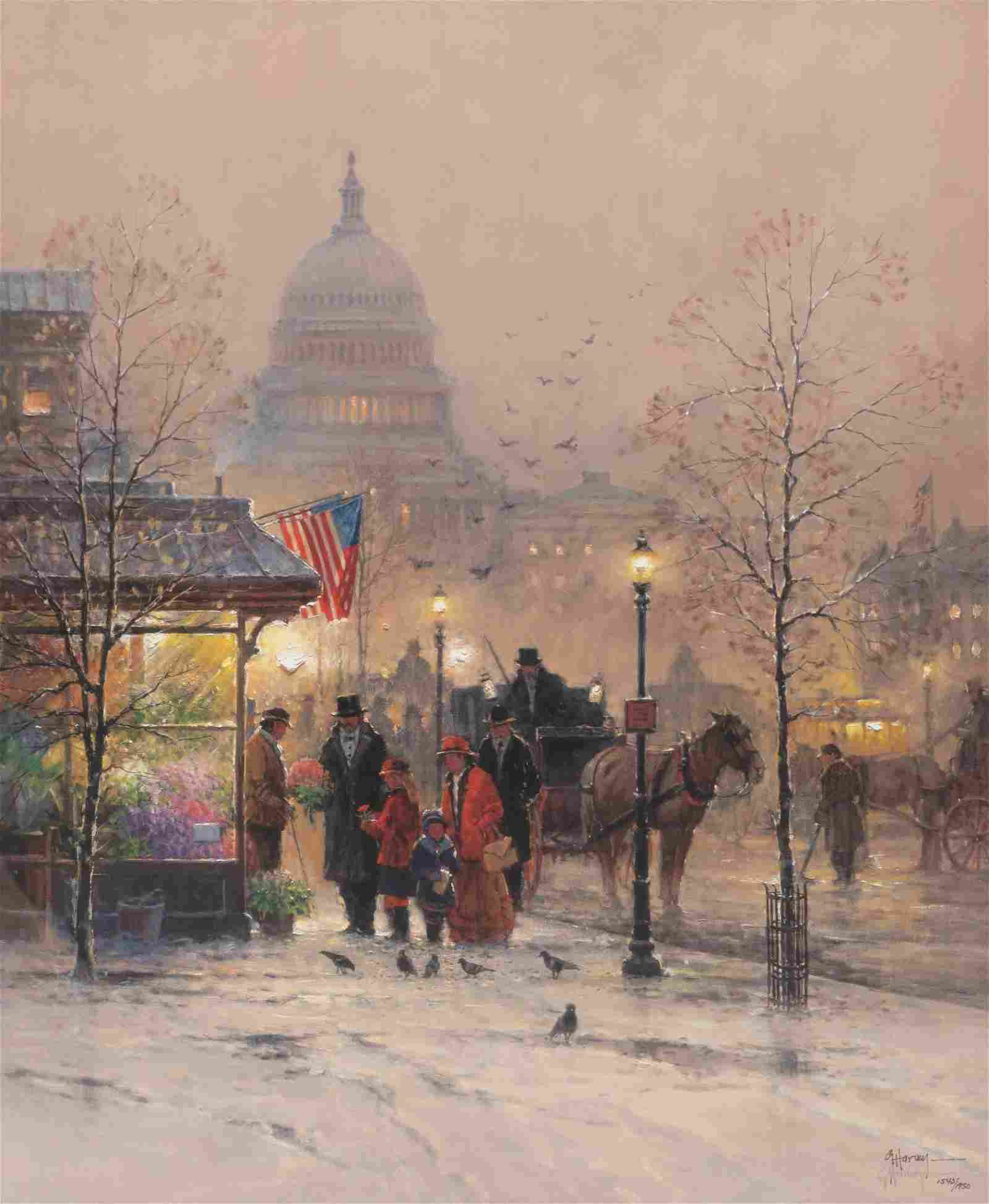 """G. Harvey (1933-2017), """"A Nation Blessed"""""""