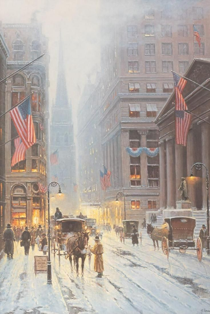 "G. Harvey (1933-2017), ""Wall Street"""