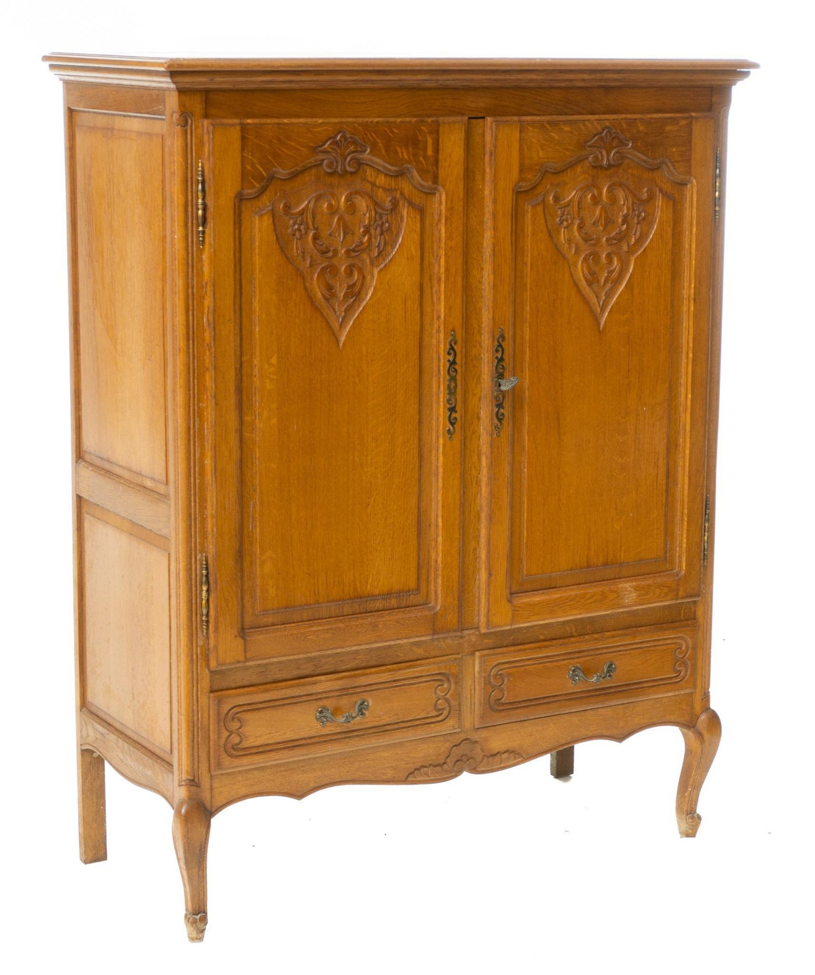French Provincial-Style Linen Cabinet