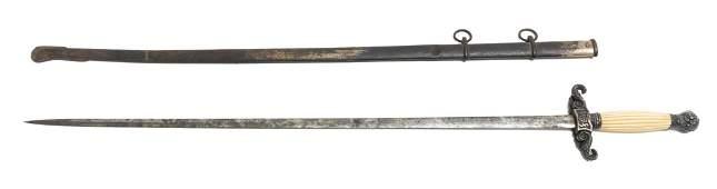U.S. Civil War Period Militia Sword