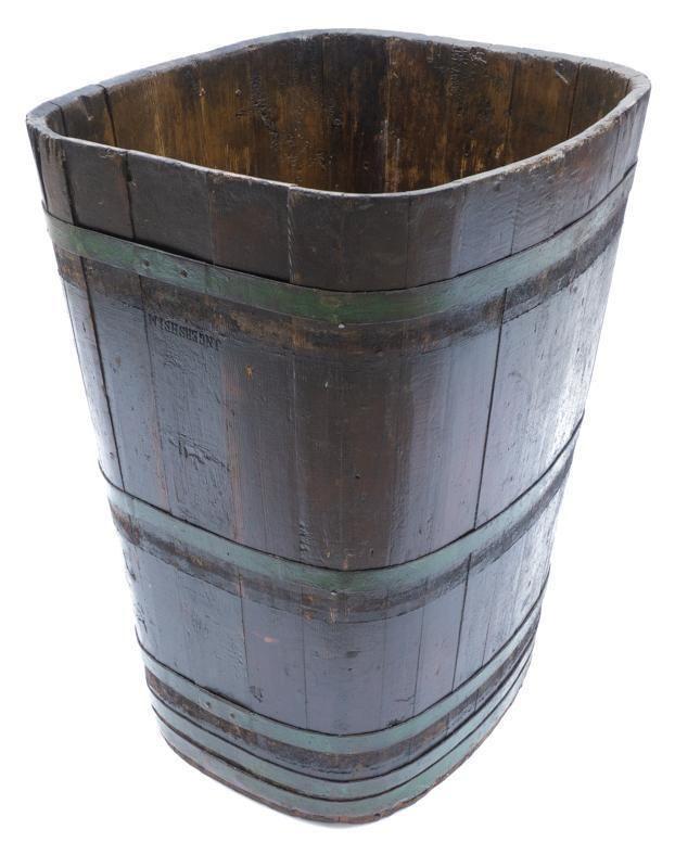 French Vineyard Grape Barrel