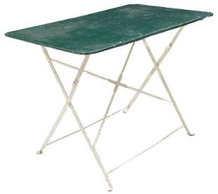 Vintage Metal Folding Picnic Table Milwaukee Stam Jul 08 2017 Lemar Auctions And Estate Services In Ca