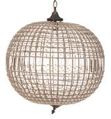 French Empire Globe Chandelier