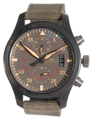 IWC Schaffhausen Top Gun Marimar Chronograph Watch