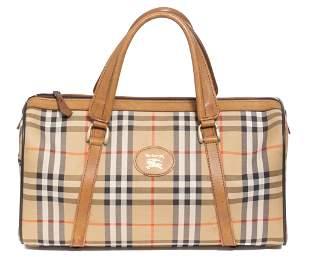 Burberry Vintage Boston Shoulder Bag