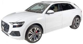2019 Audi Q8 Premium Plus White