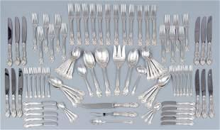 'Melrose' Gorham 95 Piece Sterling Silver Flatware Set