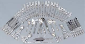 1932 King Richard Towle Sterling Silver 69 Pc Set