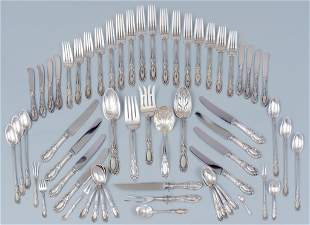 'King Richard' by Towle 61 Piece Sterling Silver