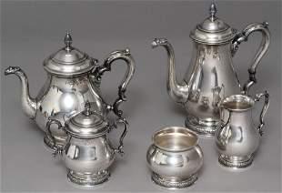 International 'Prelude' Sterling Silver Tea Service Set