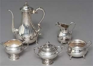 Gebelein Boston Arts & Crafts Sterling Silver Tea Set