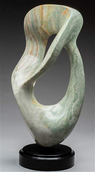 June Meyrowitz, Untitled Abstract Stone Sculpture, 1988