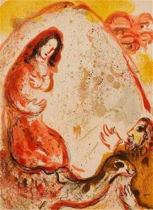 "Marc Chagall (1887-1985), ""Rachel Steals Her Father's"