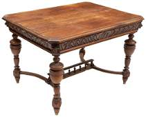 Louis XV Hunting Style Table