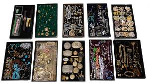 Lot of Approx. 175 Costume Jewelry