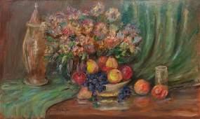 Jeanette Milam Jones (1903-1989), Flowers and Fruit,