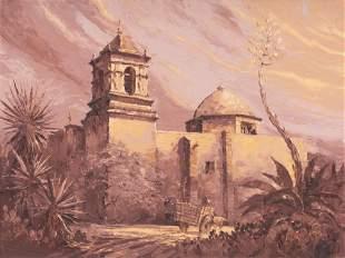 Robert Hamman (b. 1938), Mission San Jose