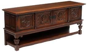 Carved Dutch Gothic Sideboard