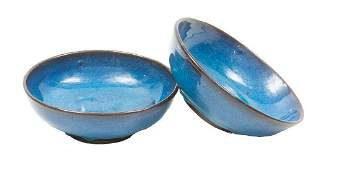 Harding Black (1912-2004), Pair of Bowls, 1992