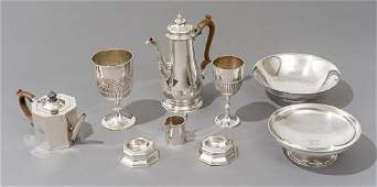 Assorted Sterling Silver Hollowware American/English