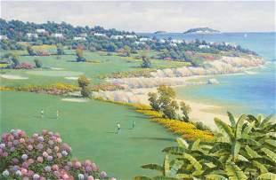 "Randy Peyton (b.1958), ""Bermuda Holiday"", 1996"