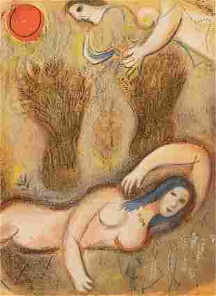 "Marc Chagall (1887-1985), ""Boaz Wakes Up..."""