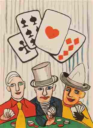 """Alexander Calder (1898-1976), """"Poker Players"""", 1975"""