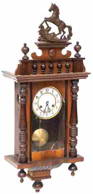 Henri II Style Wall Clock