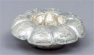 Mexican Sterling Silver Waterfall Bowl