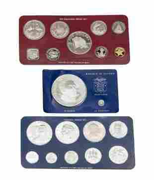 1976 Panama Proof Coin, 1976 Jamaica Proof Set & 1976