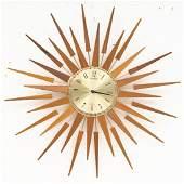 Mid-Century Teak Seth Thomas Clock