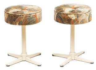 Pair of Mid-Century Bar Stools