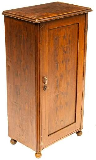 Rustic Farmhouse Linen Cabinet