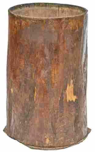 Primitive Rain Barrel