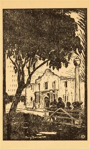 Mary Bonner (1887-1935), Alamo