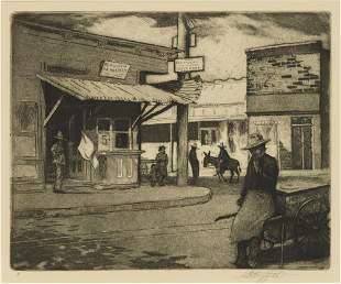 Louis Oscar Griffith (1875-1956), Barrio Street Corner