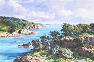 "Jose Vives-Atsara (1919-2004), ""Costa Brava, Catalonia,"