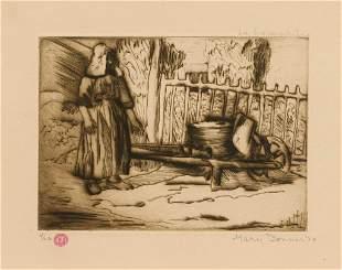 "Mary Bonner (1887-1935), ""La Lavandiera"", 1924"