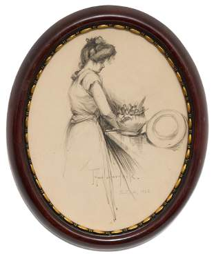 "Julian Onderdonk (1882-1922), ""Gertrude, 1902"""