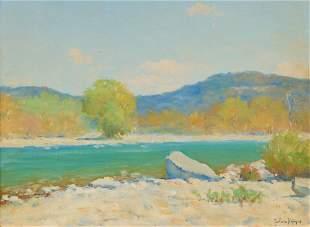 Porfirio Salinas (1910-1973), Llano River