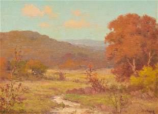 Porfirio Salinas (1910-1973), Hill Country Autumn