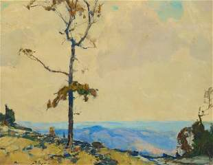 Chauncey Foster Ryder (1868-1949), Rim of the Canyon