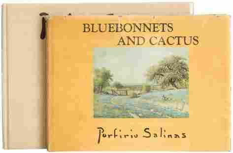 Porfirio Salinas (1910-1973), pair of books, one signed